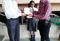 Felicitation Of AISSE Toppers