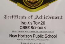 India School Merit Award