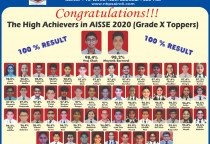 AISSE 2020- Results