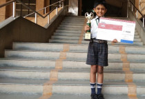Achiever In National Championship Of Word Chase