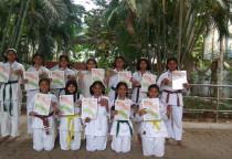 State Level Karate Runner Up