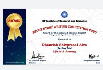 ISF Story Writing Contest