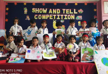 Show & Tell Competition- Sr. KG