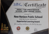 India's Top Prestigious School Jury Award 2020